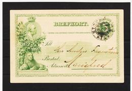 LKW594 SCHWEDEN 1900 BREFKORT STEMPEL SIEHE ABBILDUNG - Schweden
