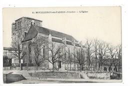 MOUILLERON En PAREDS  (cpa 85)  L'Eglise    -  L 1 - Mouilleron En Pareds
