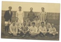CARTE PHOTO Equipe De Football à Identifier... - Football