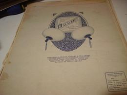 ANCIENNE PUBLICITE POUDRE DE RIZ  MALACEINE DE MONPELAS  1921 - Parfums & Beauté
