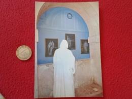 SPAIN POSTAL POST CARD CARTE POSTALE VENTA DE BAÑOS ABADÍA CISTERCIENSE SAN ISIDRO DUEÑAS LA HORA DEL MONJE MONK BONZE - Religión & Creencias