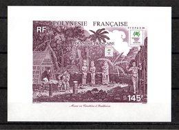 POLYNESIE FRANCAISE Yvert Bloc N° 14 Cimetière à Moukhaiva SYDPEX 88 - Blocs-feuillets