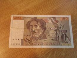Classeur AA / FRANCE Billet De 100 Francs (dans L'état ) - 100 F 1978-1995 ''Delacroix''