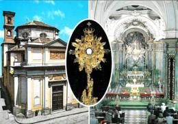 [MD2390] CPM - TORINO - S. MARIA DI PIAZZA SANTUARIO DELL'ADORAZIONE MADONNA DELLE GRAZIE - CON ANNULLO 10.2.2001 - NV - Churches