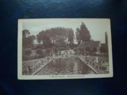 Carte Postale Ancienne De Mayet: Piscine Des Chevriers - Mayet