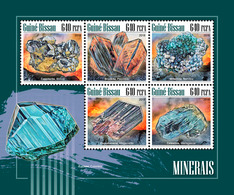 GUINEA BISSAU 2018 - Minerals. Official Issue - Minerali