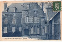 BRESSUIRE  La Sous-Préfecture Place Du Cinq Mai - Bressuire