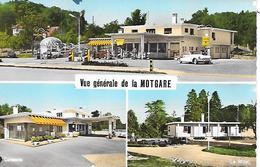 MIES  ( Suisse )  - Gare Routière  - Hôtel Et Motgare ( C.P.S.M.  , Pt - Ft ) - VD Vaud