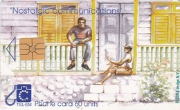 St. Maarten - Nostalgic Communications - Chatting On The Veranda - Antilles (Netherlands)