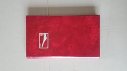 Album De Poche Fond Blanc Original - 8 Volets Dépliants  11 X 19 Cm  Excellent état - Albums à Bandes
