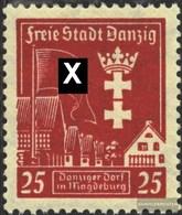 Danzig 274Y Mit Falz 1937 Magdeburg - Danzig