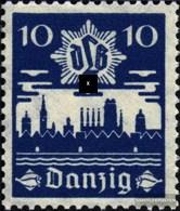 Danzig 267 Mit Falz 1937 Luftschutz - Dantzig