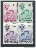 """Vietnam Du Sud N° 61 / 64  XX  Opération """"Fraternité"""", Les 4 Valeurs Sans Charnière  TB - Viêt-Nam"""