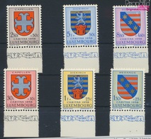 Luxemburg 595-600 (kompl.Ausg.) Postfrisch 1958 Kantonalwappen (9256817 - Luxemburg