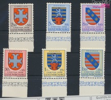 Luxemburg 595-600 (kompl.Ausg.) Postfrisch 1958 Kantonalwappen (9256818 - Luxemburg
