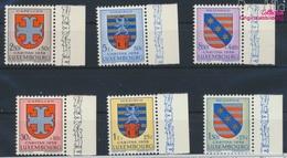Luxemburg 595-600 (kompl.Ausg.) Postfrisch 1958 Kantonalwappen (9256820 - Luxemburg