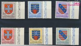 Luxemburg 595-600 (kompl.Ausg.) Postfrisch 1958 Kantonalwappen (9256821 - Ungebraucht