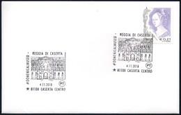 Italia Italy (2018) Annullo Speciale/special Postmark: Reggia Di Caserta - UNESCO Heritage; As Scan - UNESCO