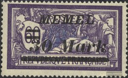 Memelgebiet 115 With Hinge 1922 Clear Brands - Memelgebiet