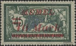 Memelgebiet 113 Con Fold 1922 Francobolli - Memelgebiet