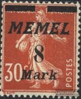 Memelgebiet 112 Con Fold 1922 Francobolli - Memelgebiet