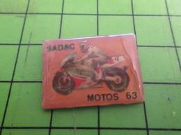313K Pin's Pins / Rare Et Beau : MOTOS / SADAK MOTOS 63 - Motos