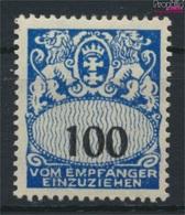 Danzig P37 Mit Falz 1923 Portomarke (9256274 - Dantzig