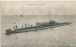"""Boot - Bateau - Ship - Schiff - Le Submersible """"Brumaire"""" - Imprimerries Réunies De Nancy - 1917 - Guerre"""