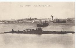 Boot - Bateau - Ship - Schiff - Lorient - 1334 - La Rade Et Entrée Du Port De Guerre - Laurent-Nel Rennes - 1930 - Guerre