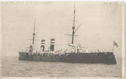 """Japanese Warship """" ASAMA """" C.W. Faulkner & Co - Series N° 389 A - Boot - Boat - Bateau - Ship - Schiff - Warships"""