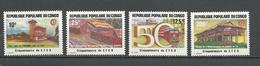 CONGO Scott 699-702 Yvert 734-737 (4) ** Cote 7,25 $ 1984 - Congo - Brazzaville
