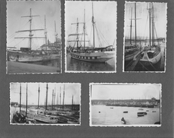 SAINT MALO - Naufrage 1934 Et Photos De Bateaux Au Verso - Bateaux