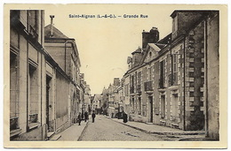 LOIR ET CHER  SAINT AIGNAN - Grande Rue - Saint Aignan