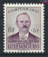 Luxemburg 487 Postfrisch 1951 Caritas (9256409 - Ungebraucht