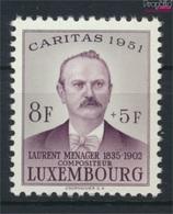 Luxemburg 487 Postfrisch 1951 Caritas (9256410 - Ungebraucht