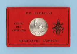 500 Lire 1978 Vaticano Papa Paolo VI° - Vaticano