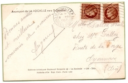 1947-Carte Postale- 8 Juillet (premier Jour De Tarif), - Mazelin  (V370) - Postmark Collection (Covers)