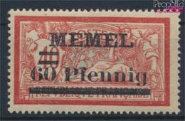 Memelgebiet 36b Avec Charnière 1921 Numéro Complémentaire (9258499 (9258499 - Klaïpeda