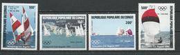 CONGO Scott C329-C332 Yvert PA325-PA328 (4) ** Cote 9,00 $ 1984 - Congo - Brazzaville