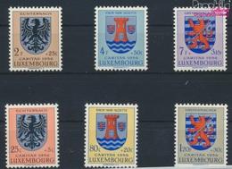 Luxemburg 561-566 (kompl.Ausg.) Postfrisch 1956 Kantonalwappen (9256872 - Luxemburg