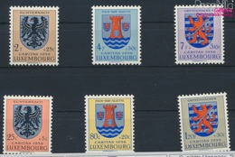 Luxemburg 561-566 (kompl.Ausg.) Postfrisch 1956 Kantonalwappen (9256873 - Luxemburg
