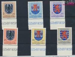 Luxemburg 561-566 (kompl.Ausg.) Postfrisch 1956 Kantonalwappen (9256874 - Luxemburg