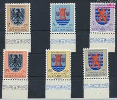 Luxemburg 561-566 (kompl.Ausg.) Postfrisch 1956 Kantonalwappen (9256875 - Luxemburg