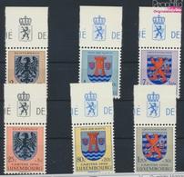Luxemburg 561-566 (kompl.Ausg.) Postfrisch 1956 Kantonalwappen (9256878 - Luxemburg