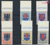 Luxemburg 561-566 (kompl.Ausg.) Postfrisch 1956 Kantonalwappen (9256879 - Ungebraucht