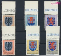 Luxemburg 561-566 (kompl.Ausg.) Postfrisch 1956 Kantonalwappen (9256879 - Luxemburg