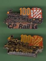 SNCF *** CP RAIL 100 *** Lot De 2 Pin's Differents *** TRAINS-06 - TGV