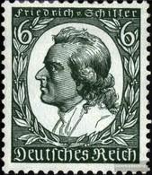 Deutsches Reich 554 Con Fold 1934 F.di Schiller - Deutschland