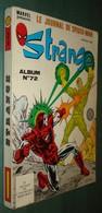 STRANGE Album N°72 (215+216+217) - Lug 1988 - Bon état - Strange
