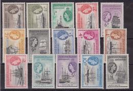 625 * Falkland Is. Ind.1953 - Navi Ships SG N. G26/G40. Cat. £ 225,00.MH - Falkland